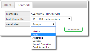 reguliere drop down list
